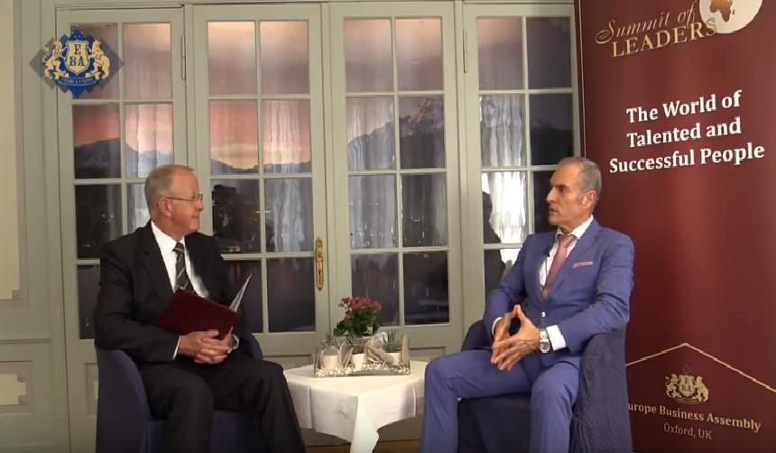 An Interview On Switzerland's Television
