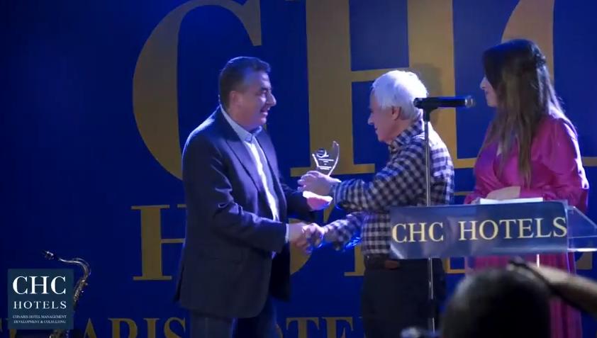 Βίντεο από την βράβευση του ξενοδοχείου «CHC Athina Palace Resort & Spa» στην εκδήλωση CHC Golden Night 2017