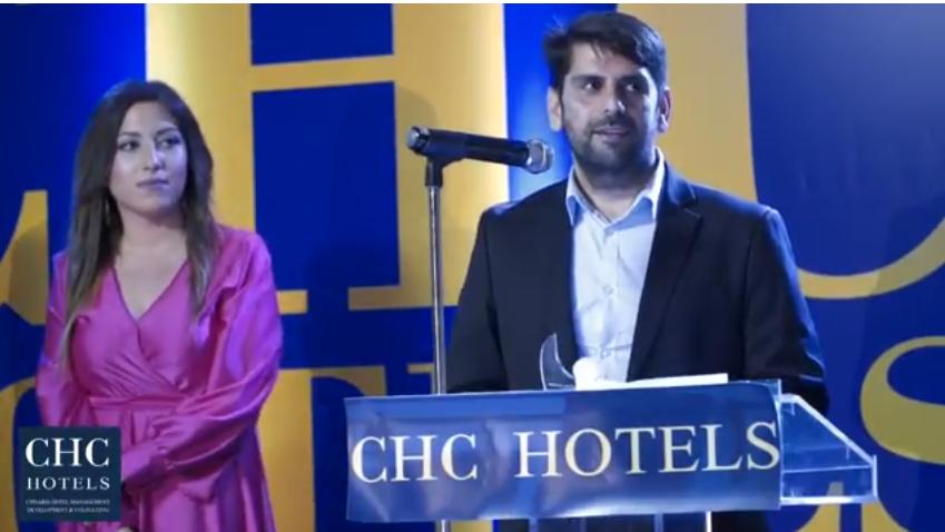 Βίντεο από την βράβευση του ξενοδοχείου «CHC Galini Sea View» στην εκδήλωση CHC Golden Night 2017