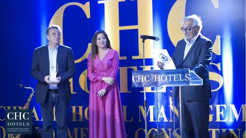 Βίντεο από την βράβευση του ξενοδοχείου «Royal Marmin Bay Boutique & Art Hotel» στην εκδήλωση CHC Golden Night 2017