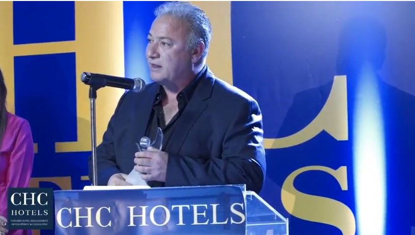 Βίντεο από την βράβευση του ξενοδοχείου «Scala Hotel & Apartments» στην εκδήλωση CHC Golden Night 2017
