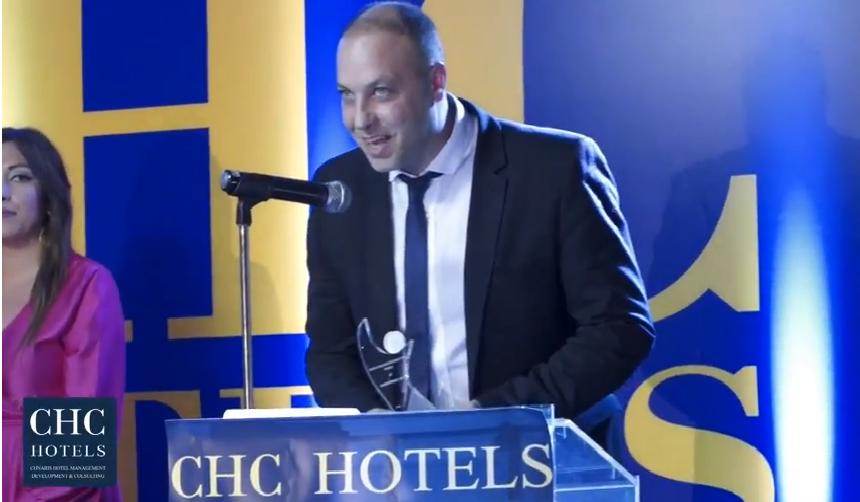 Βίντεο απο την βράβευση του ξενοδοχείου «CHC Coriva Beach» στην εκδήλωση CHC Golden Night 2017