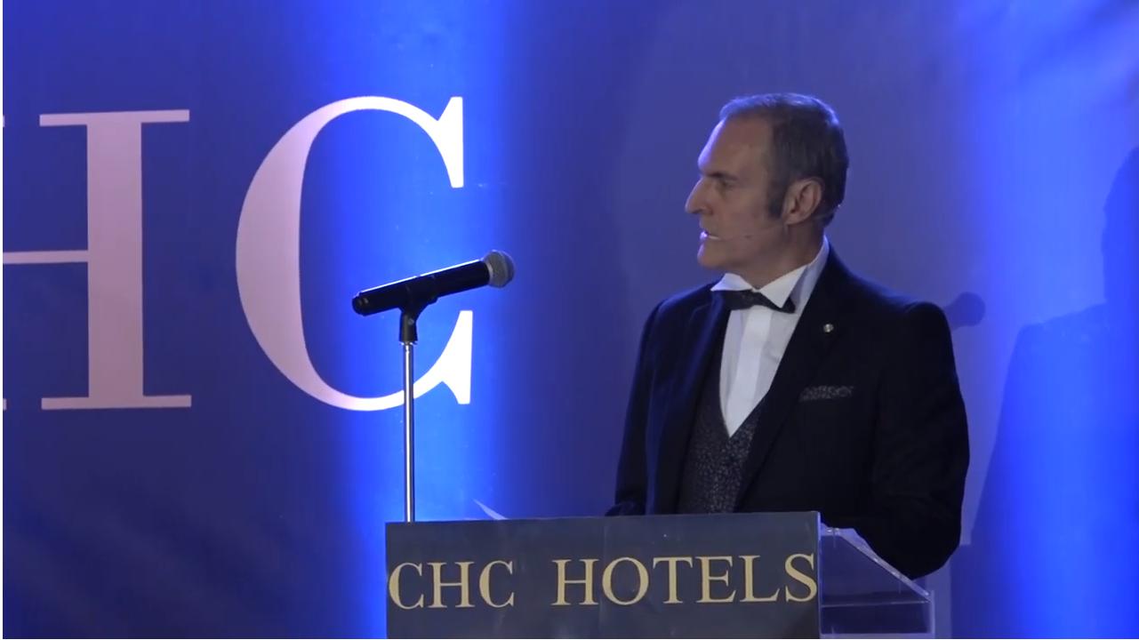 Βίντεο από την Ομιλία του κύριου Χνάρη Ζαχαρία στην εκδήλωση CHC Golden Night 2019